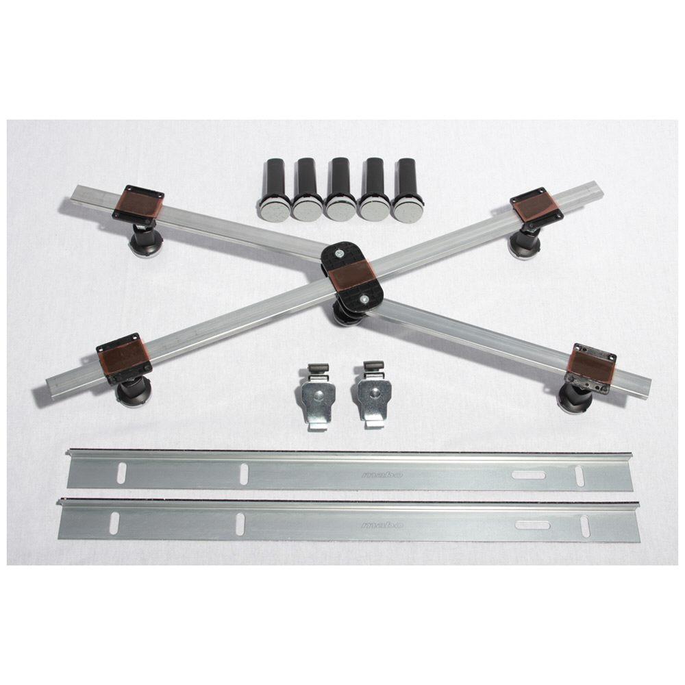 ideal standard montage satz gr e 1 f r brausewannen k935967 megabad. Black Bedroom Furniture Sets. Home Design Ideas