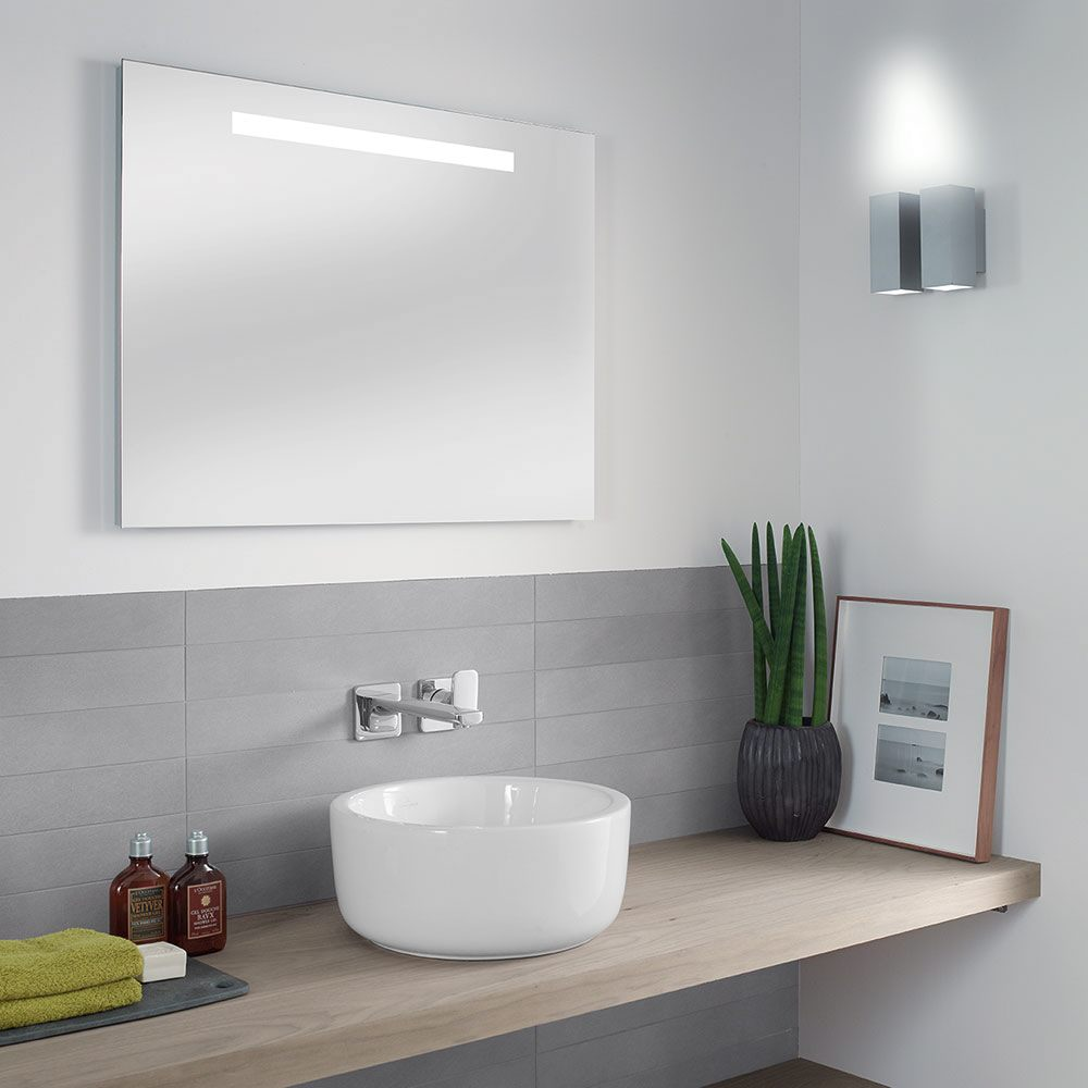 Villeroy & Boch More To See One Lichtspiegel mit LED-Beleuchtung ...