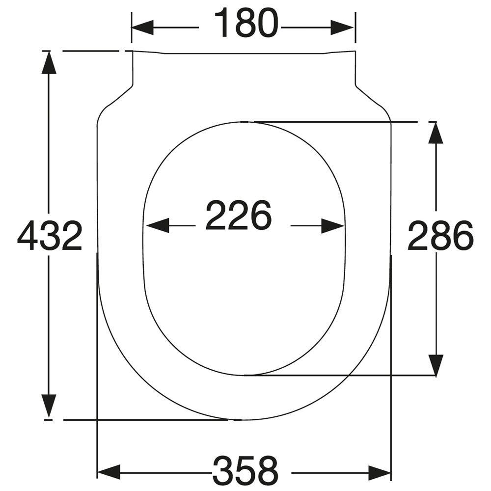 villeroy boch subway 2 0 wc sitz slimseat 9m78s101 megabad. Black Bedroom Furniture Sets. Home Design Ideas