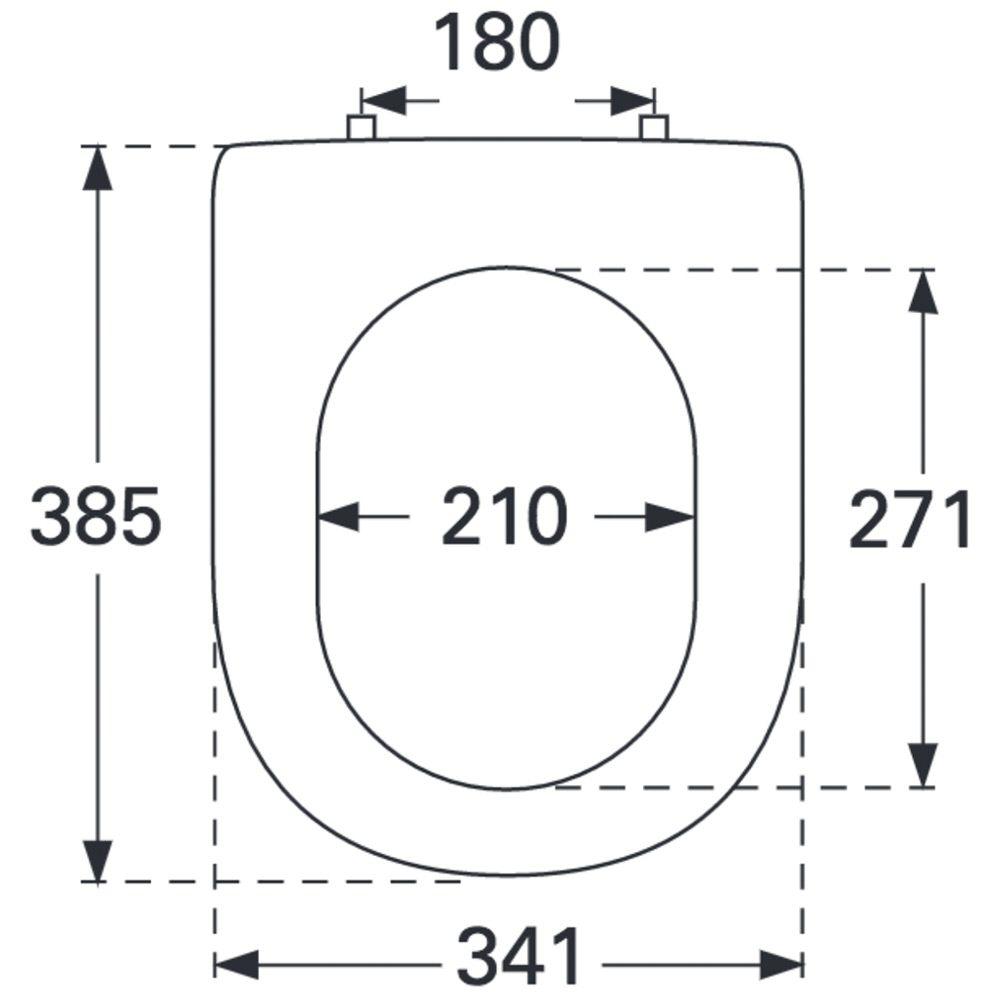 villeroy boch subway 2 0 wc sitz compact 9m69q101 megabad. Black Bedroom Furniture Sets. Home Design Ideas