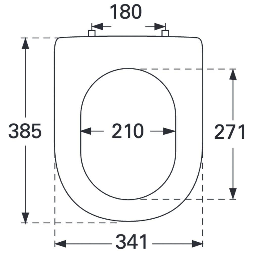villeroy boch subway 2 0 wc sitz compact 9m69s101 megabad. Black Bedroom Furniture Sets. Home Design Ideas