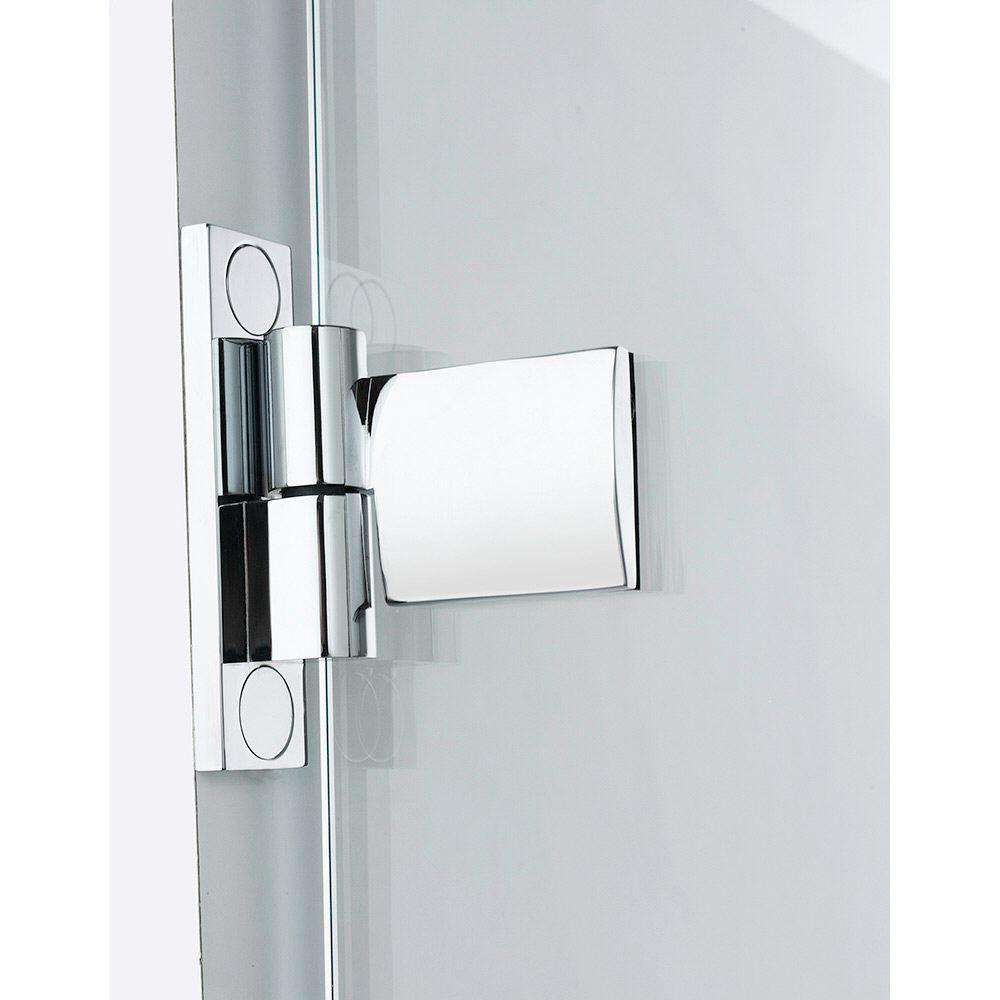 Türanschluss detail außentür  Sprinz BS-Dusche Tür für Nische bis 100 x 200 cm, Anschlag links ...