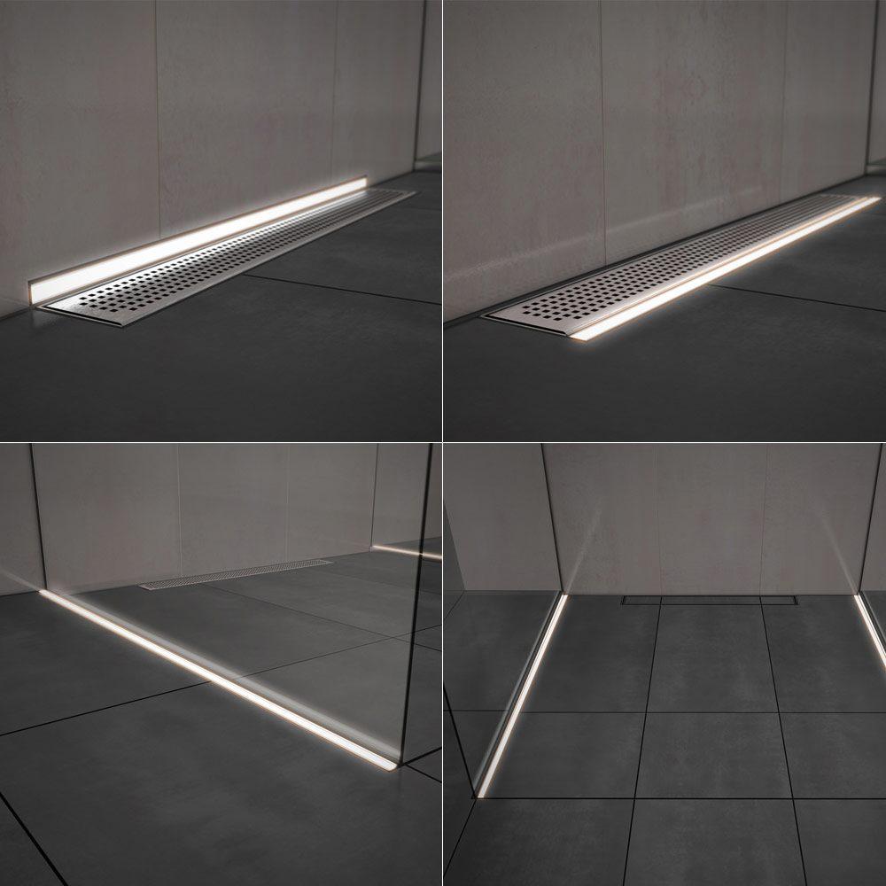 aco lightline pro beleuchtungselement neutralwei 70 cm. Black Bedroom Furniture Sets. Home Design Ideas