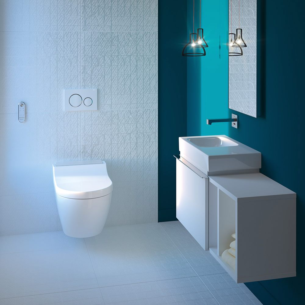 geberit aquaclean tuma comfort wc komplettanlage wand wc. Black Bedroom Furniture Sets. Home Design Ideas