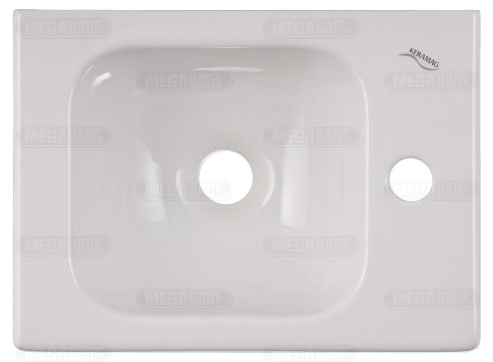 Erstaunlich Keramag iCon xs Handwaschbecken 38 cm m. Hahnloch rechts 124736  SK38