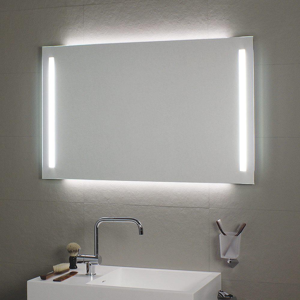 koh i noor spiegel duo 100 x 60 cm mit raum und seitenlicht megabad. Black Bedroom Furniture Sets. Home Design Ideas