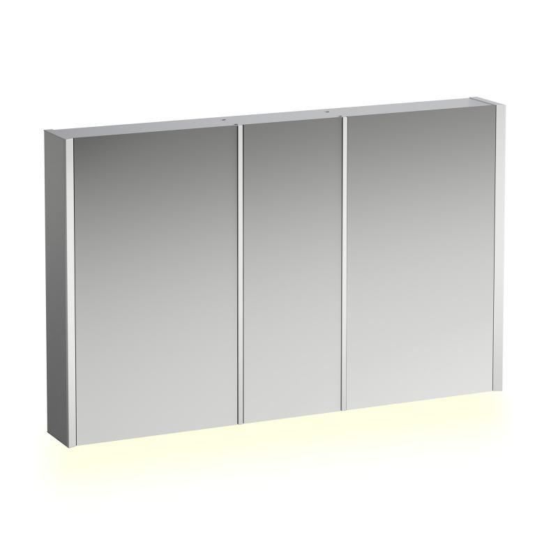 Laufen Frame 25 Spiegelschrank 120 X 75 Cm Mit 3 Türen Und Ambiente Licht