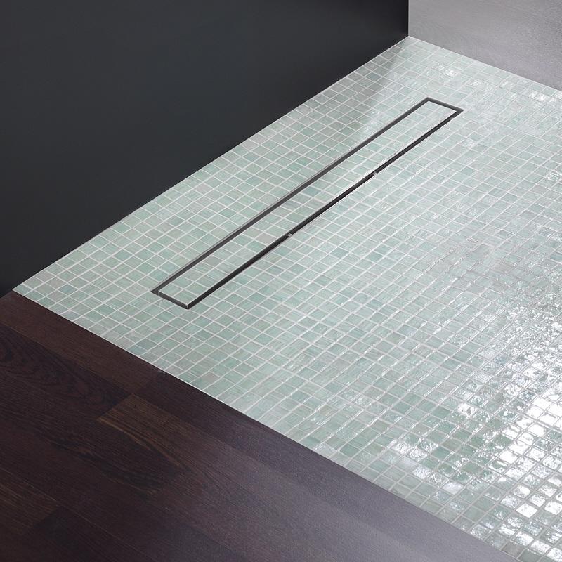 repabad betn10090c95 bodenelement mit tece duschrinne. Black Bedroom Furniture Sets. Home Design Ideas
