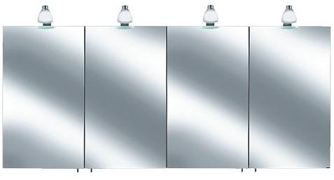 keuco royal 30 spiegelschrank 160 x 78 5 cm 05605171301. Black Bedroom Furniture Sets. Home Design Ideas