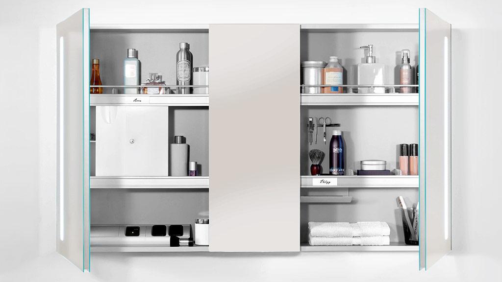 my view 14 spiegelschr nke megabad. Black Bedroom Furniture Sets. Home Design Ideas