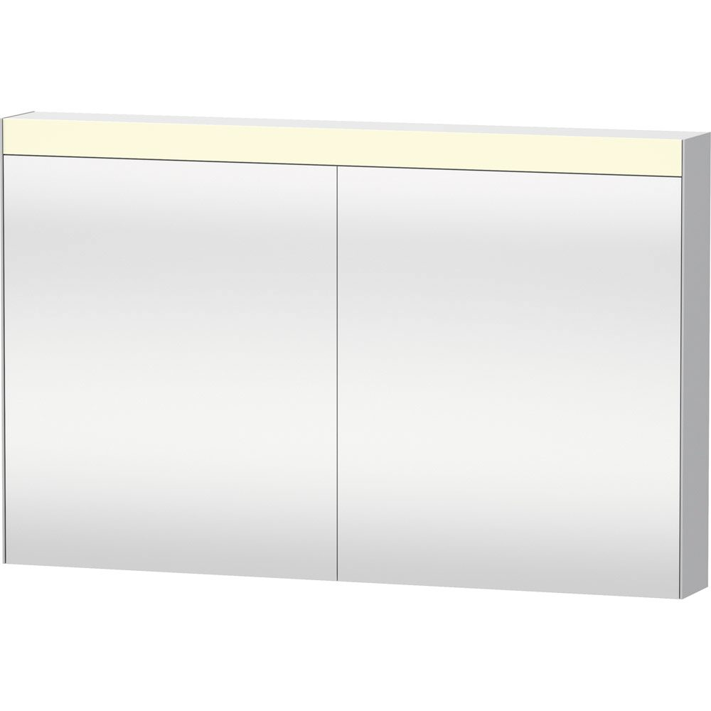 Sehr Duravit Licht und Spiegel Spiegelschrank 121 x 76 cm Best-Version  OL42