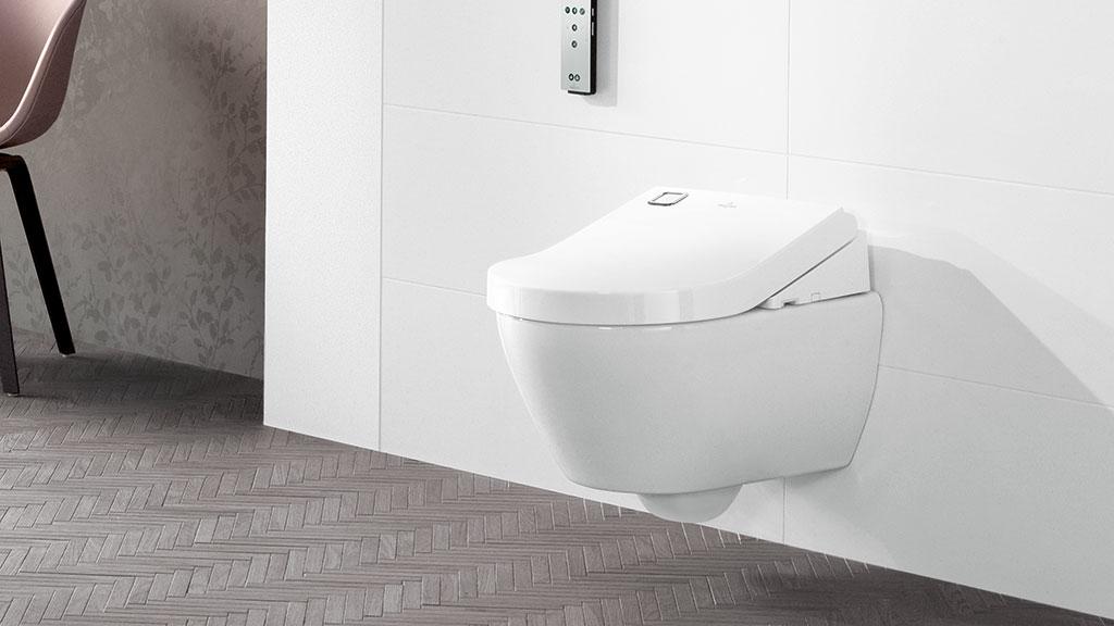 villeroy boch viclean dusch wc sitze und wc megabad. Black Bedroom Furniture Sets. Home Design Ideas