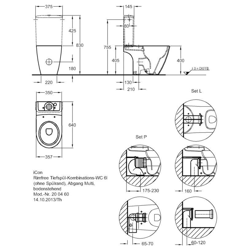 keramag icon keramik sp lkasten 6 liter 229420000 megabad. Black Bedroom Furniture Sets. Home Design Ideas