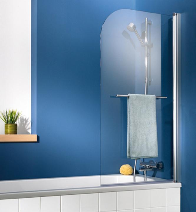 hsk exclusiv badewannenaufsatz 1 teilig anschlag rechts megabad. Black Bedroom Furniture Sets. Home Design Ideas