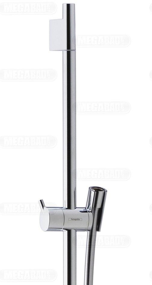 hansgrohe unica 39 s puro brausenstange 65 cm 28632000 megabad. Black Bedroom Furniture Sets. Home Design Ideas