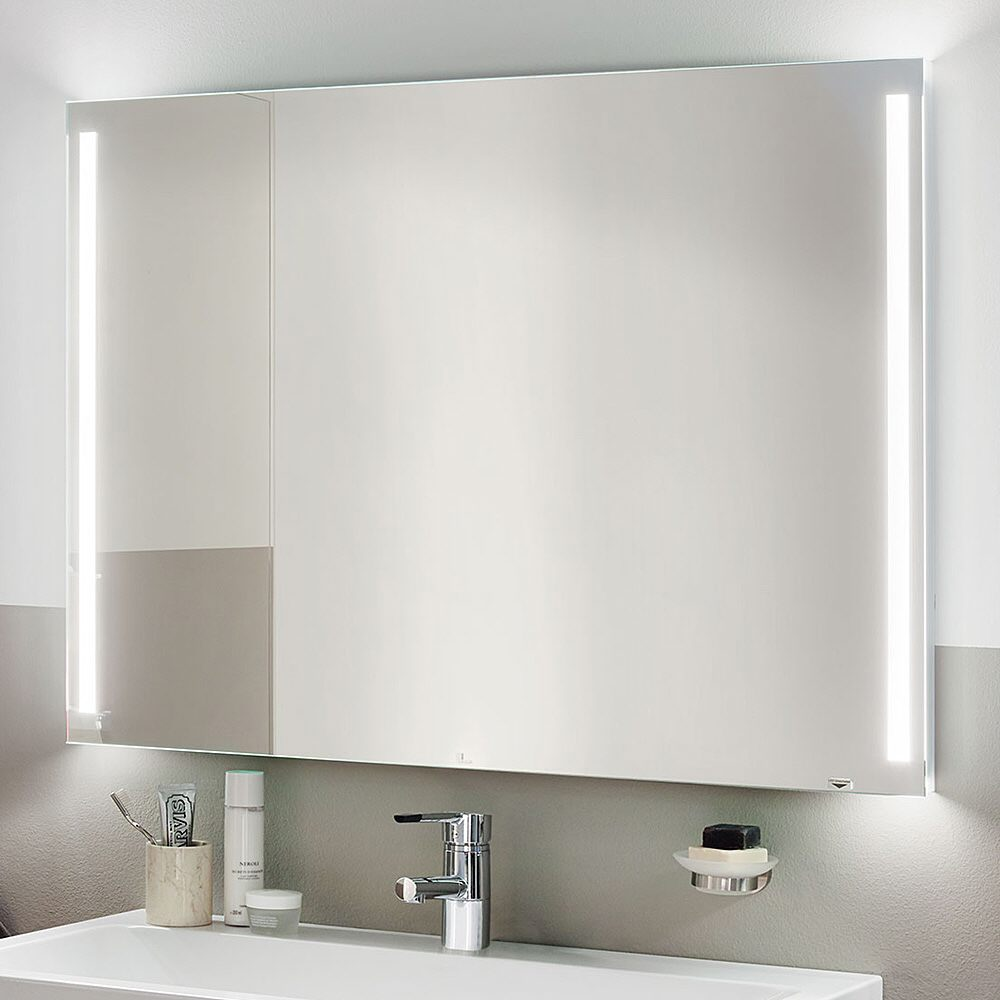Zierath palma lichtspiegel 80 x 60 cm palma led 8060 megabad for Spiegel 80 x 120