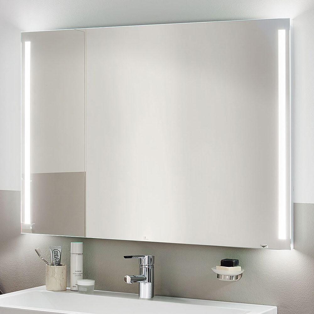 zierath palma led spiegel hinterleuchtet 50 x 70 cm palmaled5070 megabad. Black Bedroom Furniture Sets. Home Design Ideas
