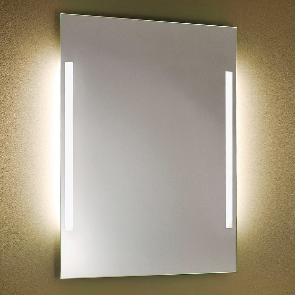 Turbo Zierath Palma Lichtspiegel 80 x 60 cm Palma-LED-8060 - MEGABAD OC49