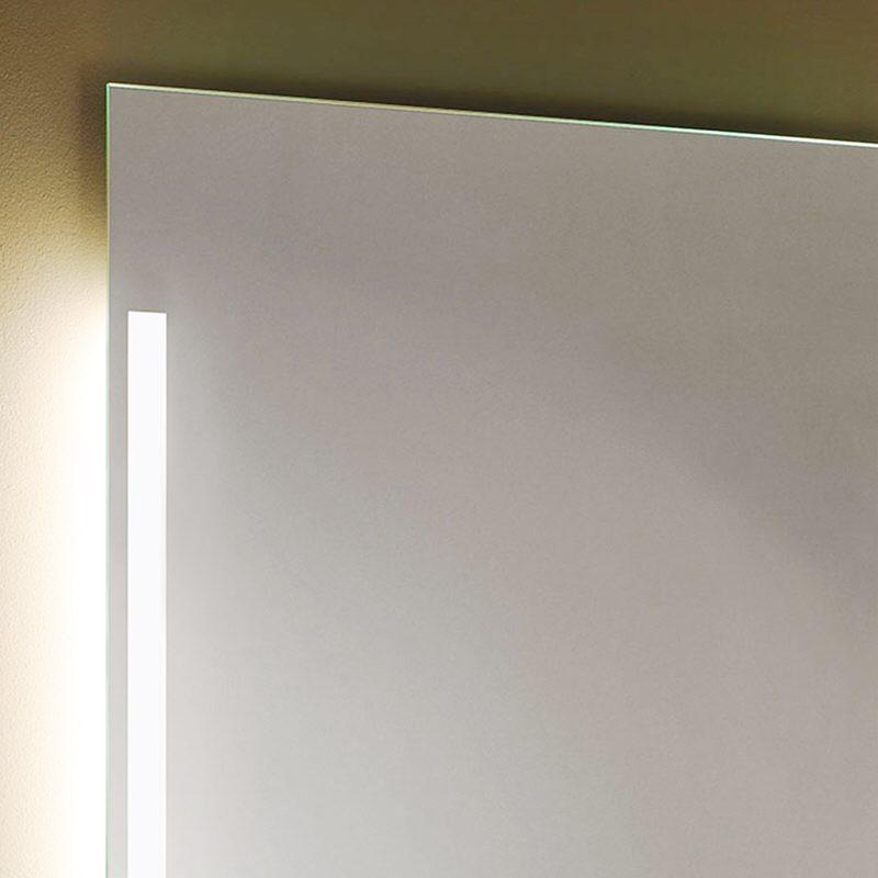 Zierath palma lichtspiegel 80 x 60 cm palma led 8060 megabad for Spiegel hinterleuchtet
