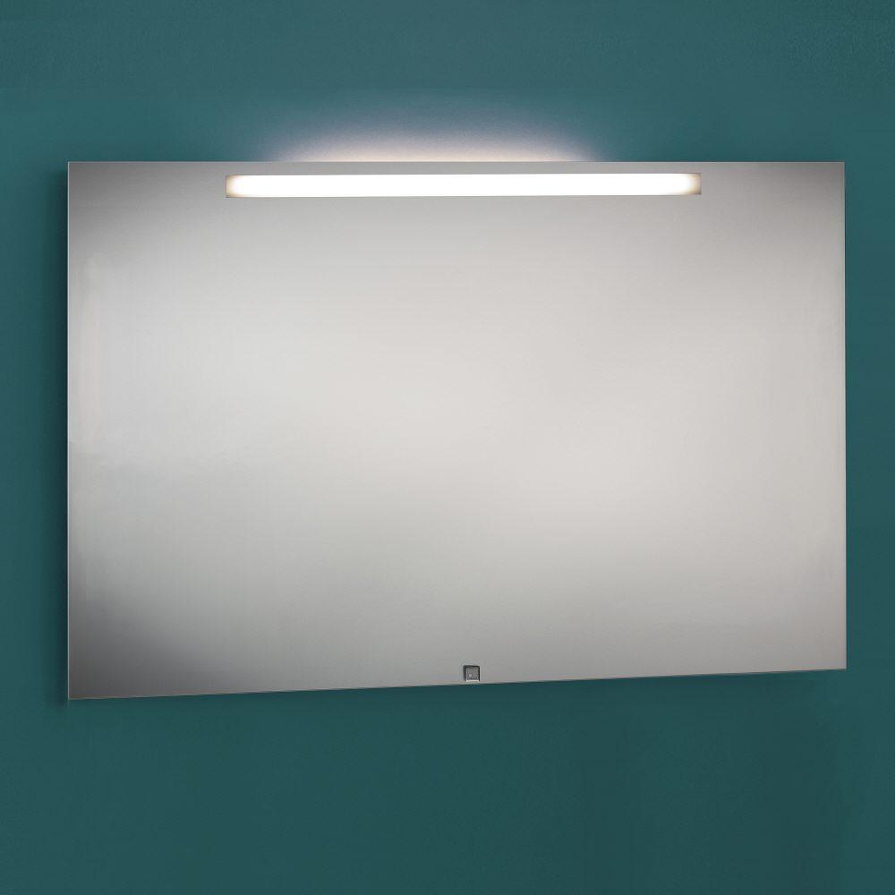 zierath garda led spiegel hinterleuchtet 120 x 70 cm gardaled12070 megabad. Black Bedroom Furniture Sets. Home Design Ideas