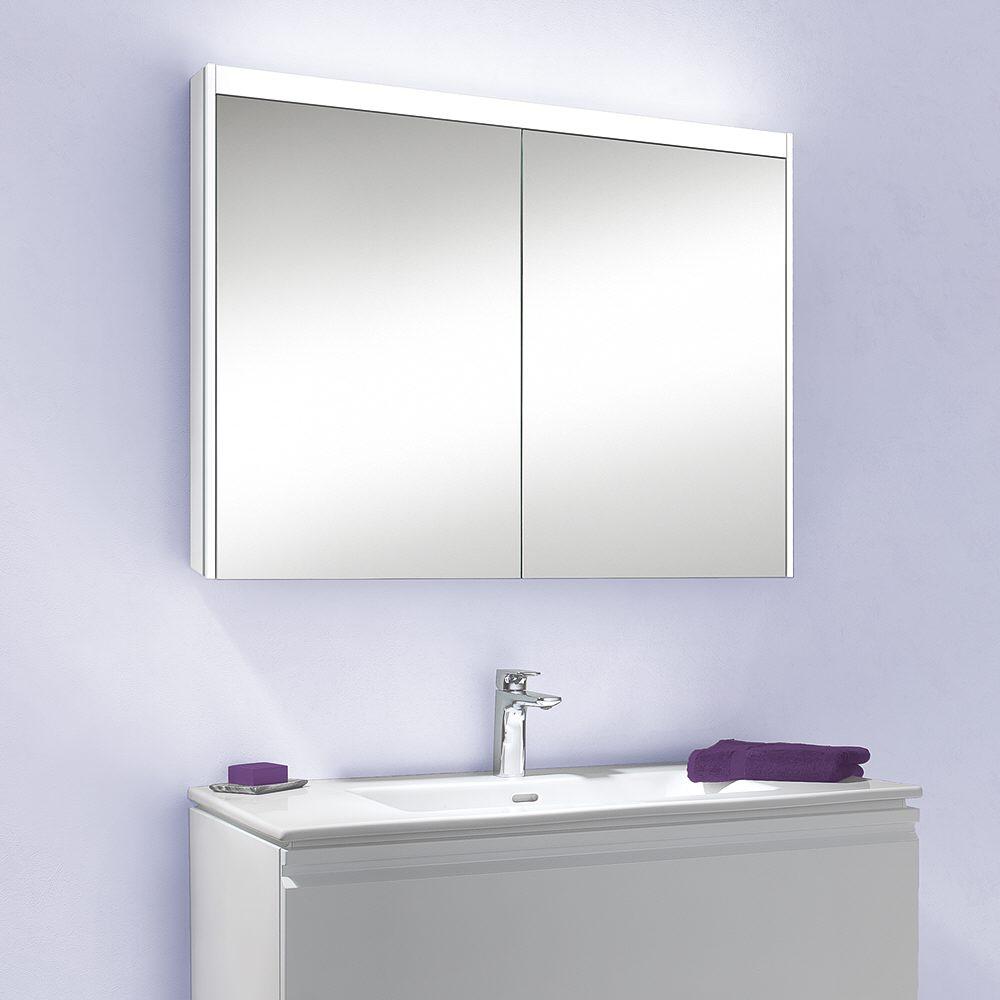 Schneider O-Line Spiegelschrank Beleuchtung LED oben 120 x 15,8 x ...