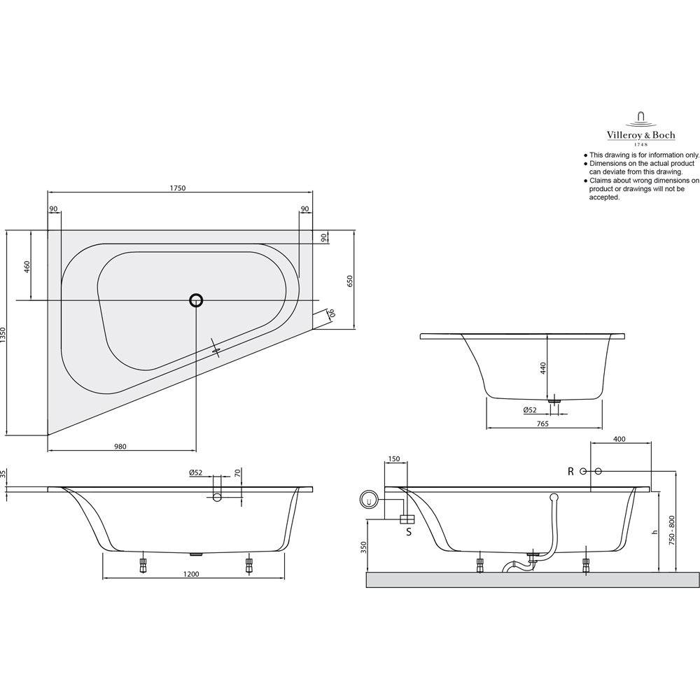 villeroy boch loop friends oval eckbadewanne uba175lfo9liv 01 megabad. Black Bedroom Furniture Sets. Home Design Ideas