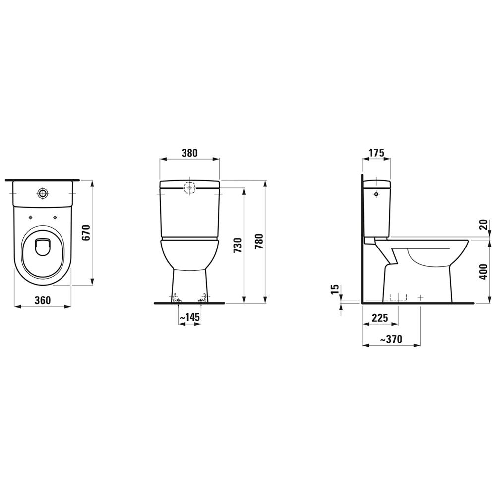 wc senkrechter abgang ku11 hitoiro. Black Bedroom Furniture Sets. Home Design Ideas