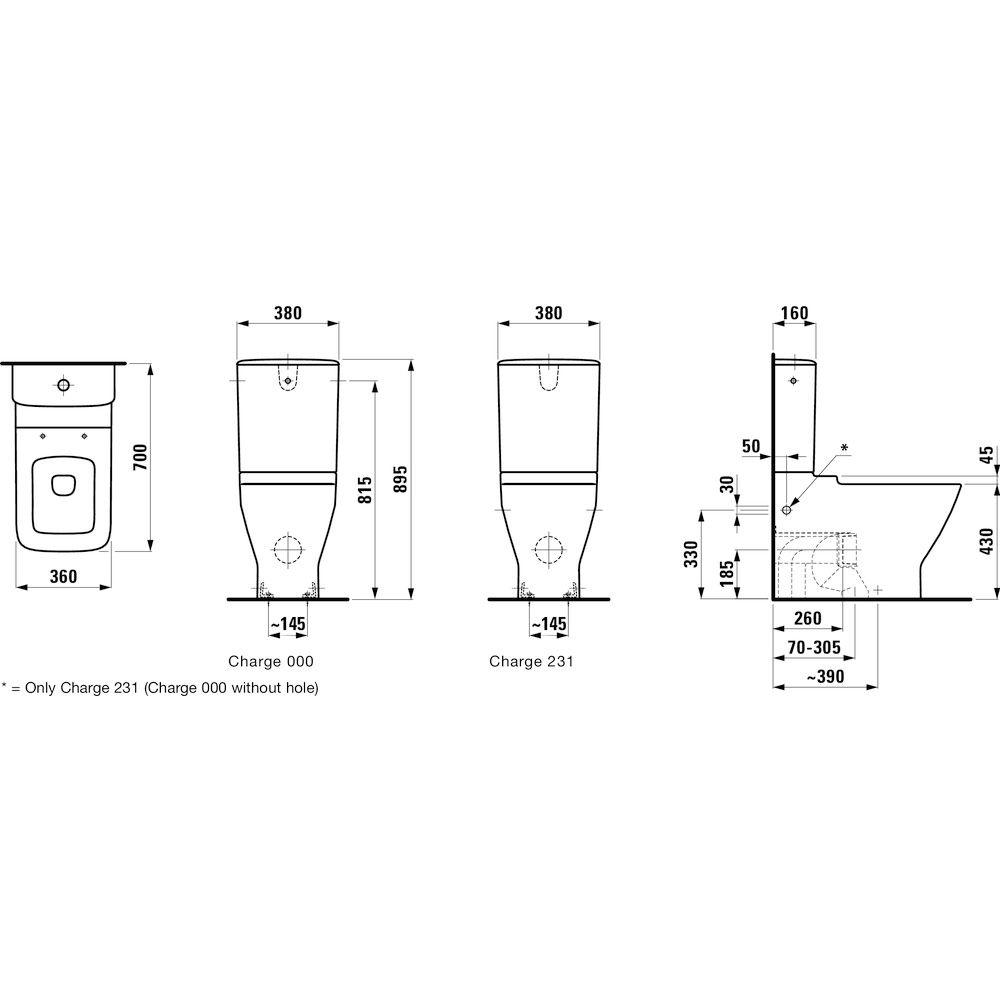 stand wc mit aufgesetztem sp lkasten rb61 hitoiro. Black Bedroom Furniture Sets. Home Design Ideas