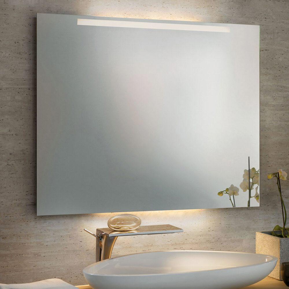 zierath trento lichtspiegel hinterleuchtet 80 x 60 cm trento8060 megabad. Black Bedroom Furniture Sets. Home Design Ideas