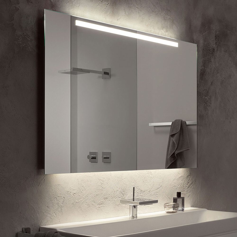 Zierath trento led spiegel hinterleuchtet 160 x 80 cm for Spiegel 160x80