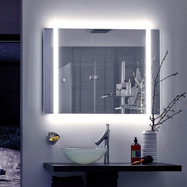 Zierath Yourstyle S Premium Lichtspiegel Mit Led Modulen Links Und Rechts 80x 100 Cm