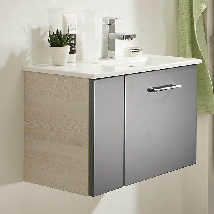Pelipal Solitaire 9015 Waschtischunterschrank 55 cm, 2 Türen ...