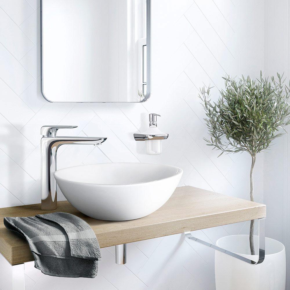 kludi ameo waschsch ssel einhandmischer hohe ausf hrung h he 33 5 cm 412980575 megabad. Black Bedroom Furniture Sets. Home Design Ideas