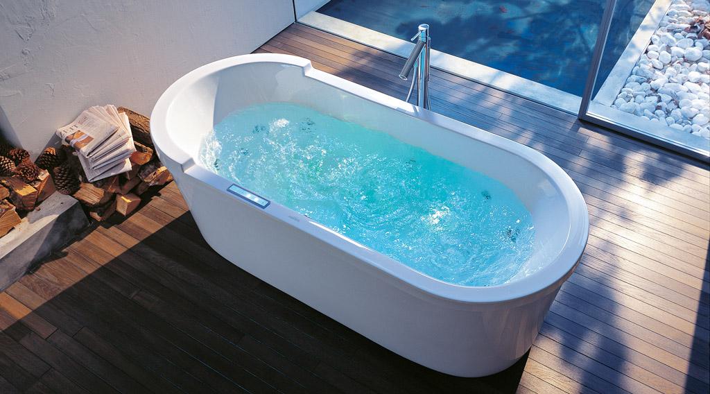 Whirlpool badewanne  Duravit Starck Whirlpool-Badewannen - MEGABAD