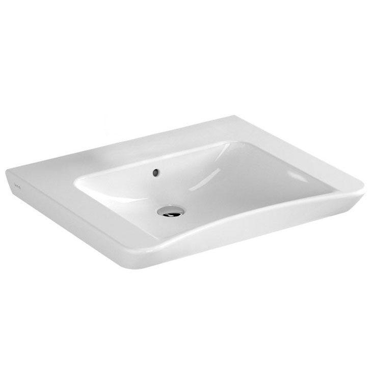 VitrA S20 Waschtisch 65 cm ohne Hahnloch - 5291B003-0012 - MEGABAD | {Waschbecken eckig ohne hahnloch 48}