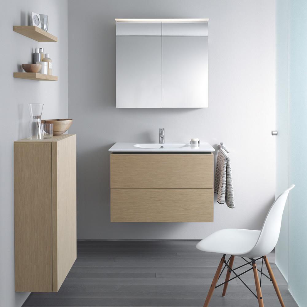 duravit delos spiegelschrank 60 cm art dl754100000 megabad. Black Bedroom Furniture Sets. Home Design Ideas