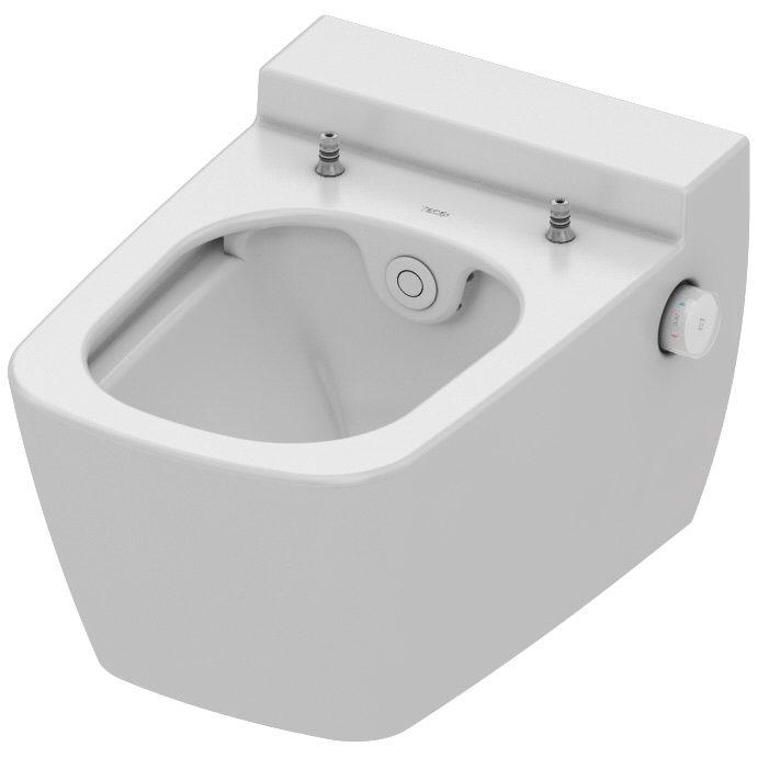 tece teceone wc keramik mit duschfunktion 9700200 megabad. Black Bedroom Furniture Sets. Home Design Ideas