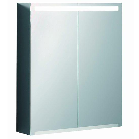 keramag option spiegelschrank led 60 cm 801460 megabad. Black Bedroom Furniture Sets. Home Design Ideas