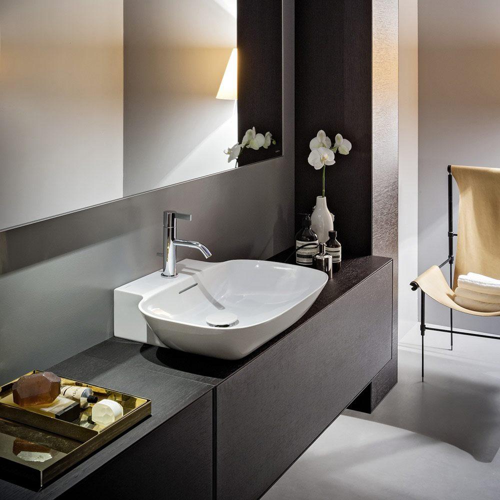 laufen ino aufsatzwaschtisch wandmontiert geschliffen 56. Black Bedroom Furniture Sets. Home Design Ideas