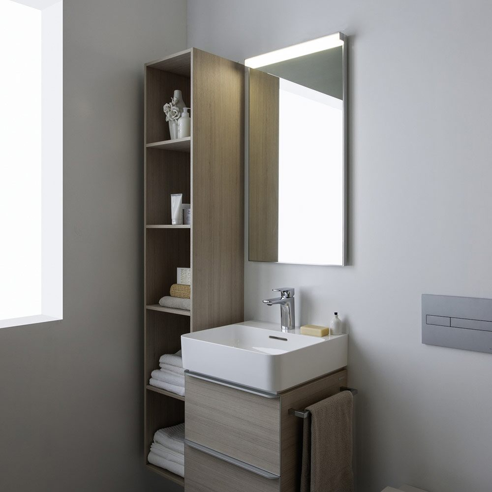 laufen val waschtisch unterbauf hig 55 x 42 cm mit 1. Black Bedroom Furniture Sets. Home Design Ideas
