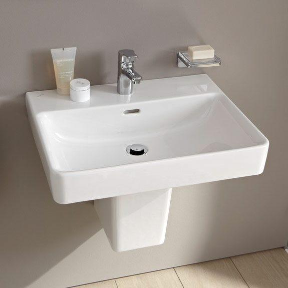 laufen pro s waschtisch 65 cm mit 1 hahnloch und berlauf. Black Bedroom Furniture Sets. Home Design Ideas