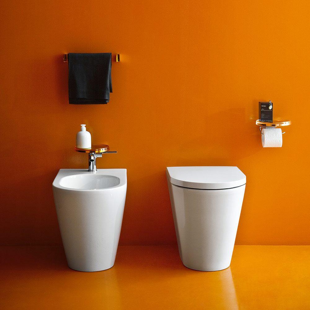 laufen kartell stand wc tiefsp ler f r standsp lkasten h8233310000001 megabad. Black Bedroom Furniture Sets. Home Design Ideas