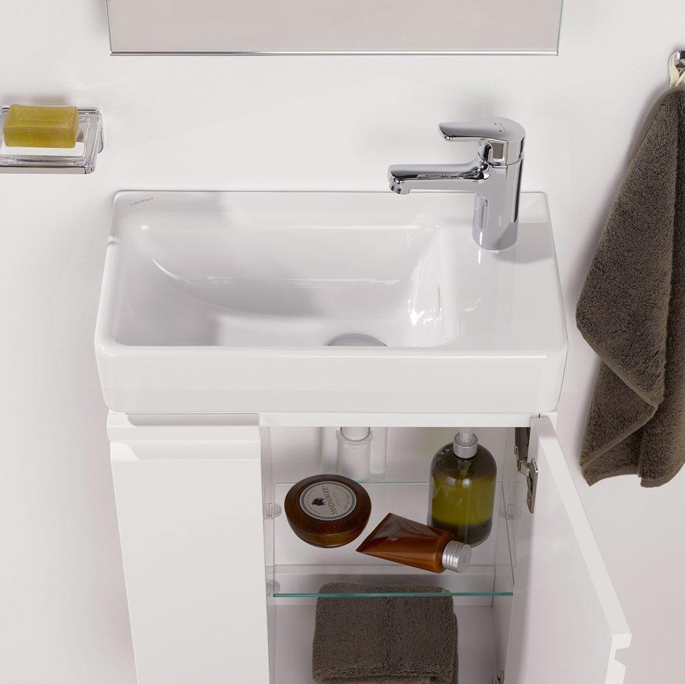 laufen pro s handwaschbecken asymmetrisch becken links megabad. Black Bedroom Furniture Sets. Home Design Ideas