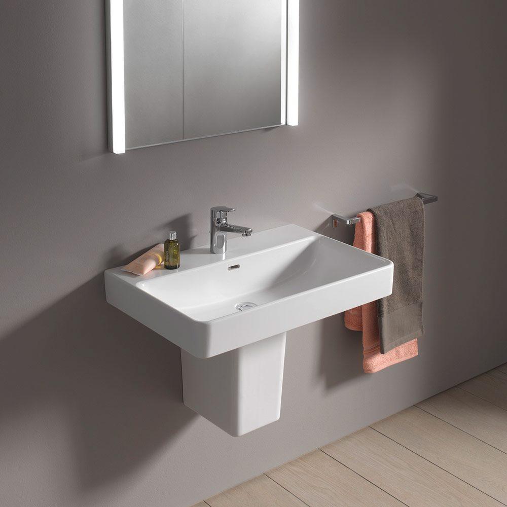 laufen pro s compact waschtisch 55 cm 818958 megabad. Black Bedroom Furniture Sets. Home Design Ideas