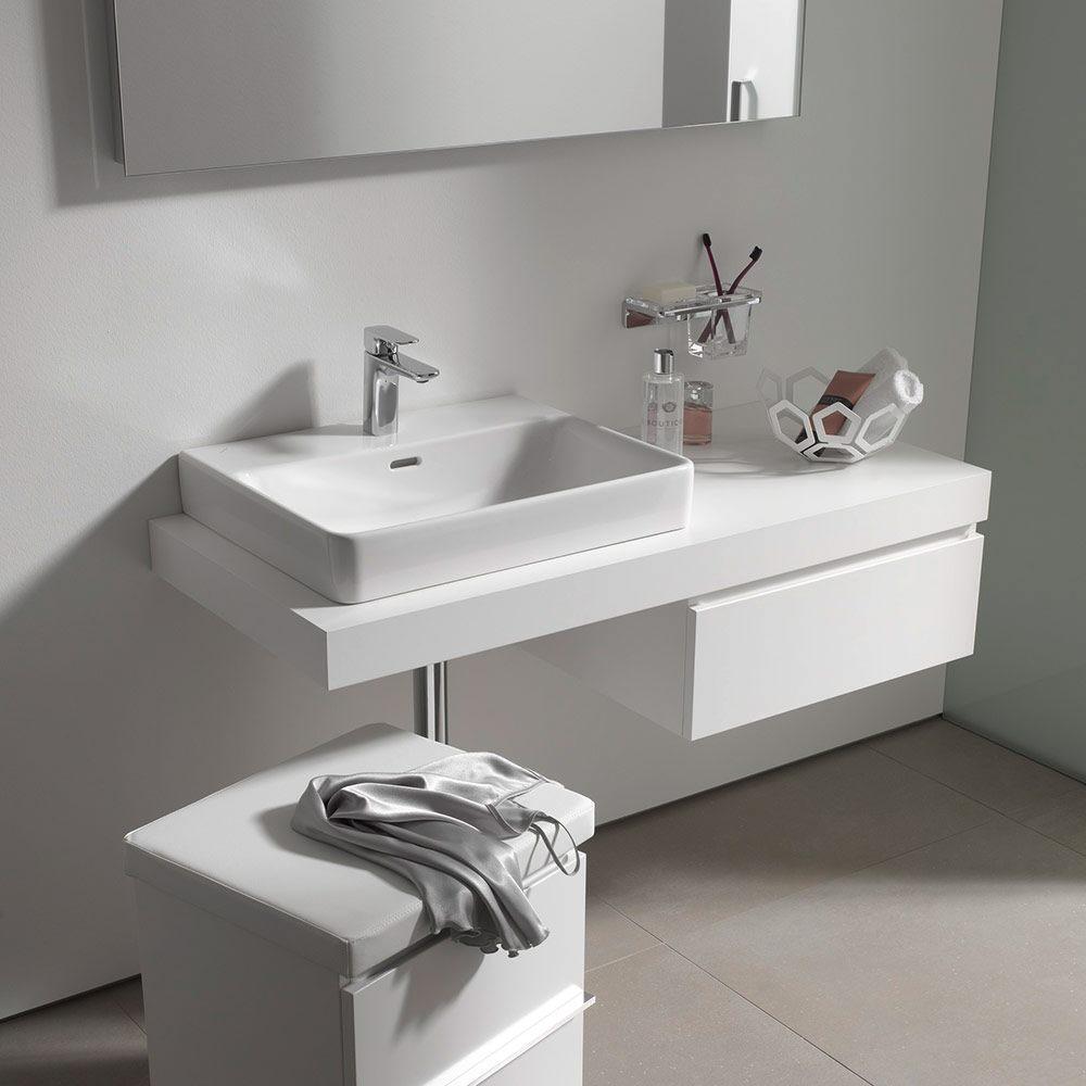laufen pro s aufsatzwaschtisch 60 cm mit hahnloch und. Black Bedroom Furniture Sets. Home Design Ideas
