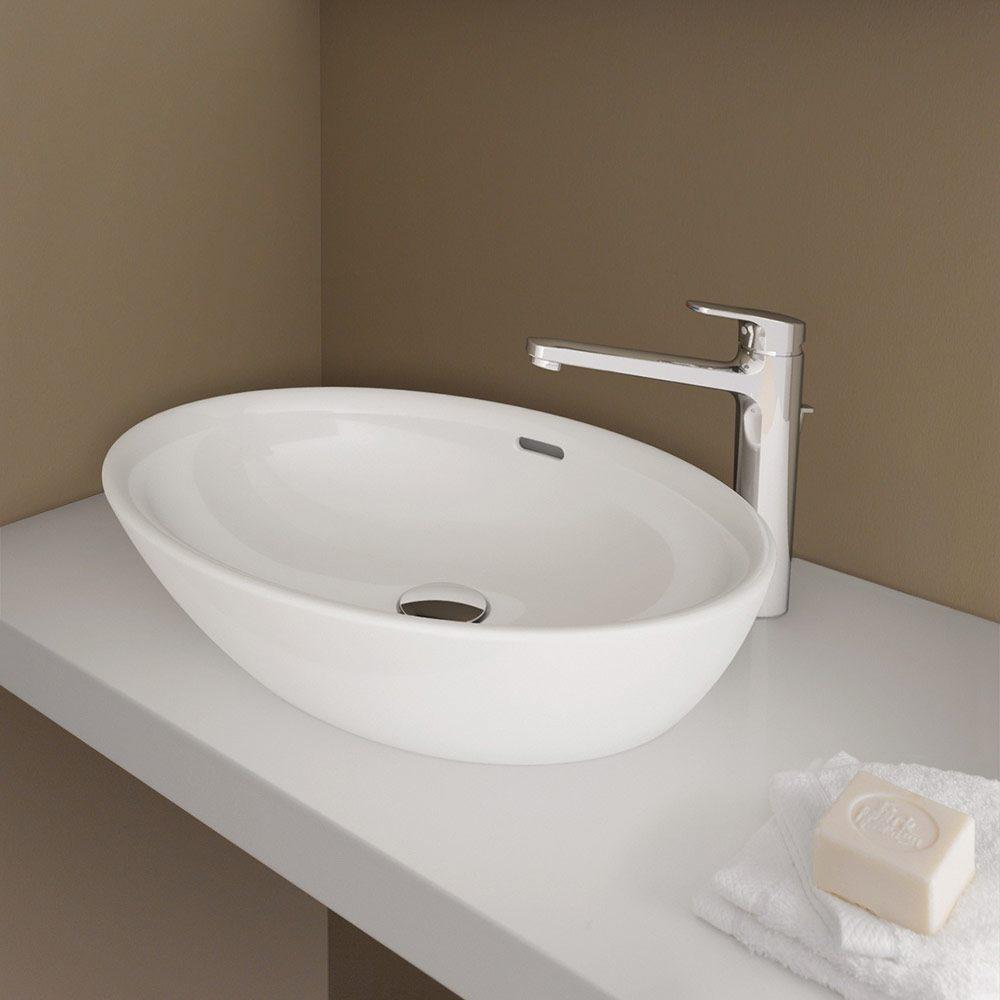 laufen pro b waschtischschale mit berlauf 812964 megabad. Black Bedroom Furniture Sets. Home Design Ideas