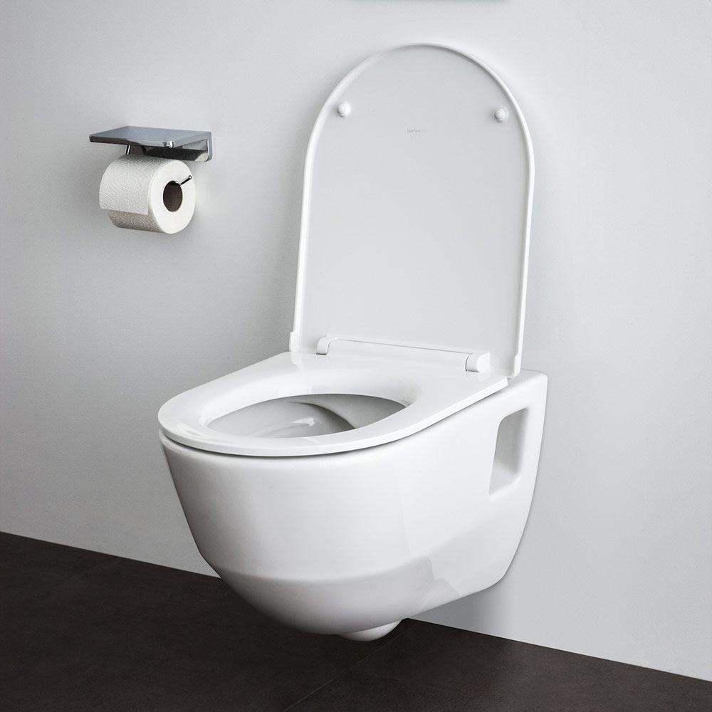 laufen pro wc sitz mit abnehmbarem deckel h8919503000031 megabad. Black Bedroom Furniture Sets. Home Design Ideas