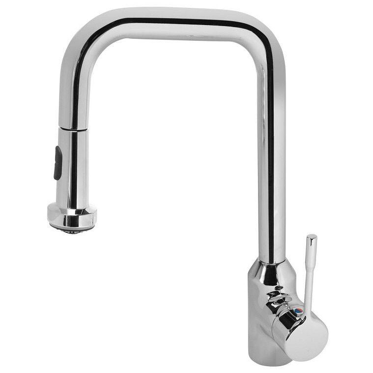 Ideal Standard Retta Einhebel-Küchenarmatur mit hohem Auslauf ...