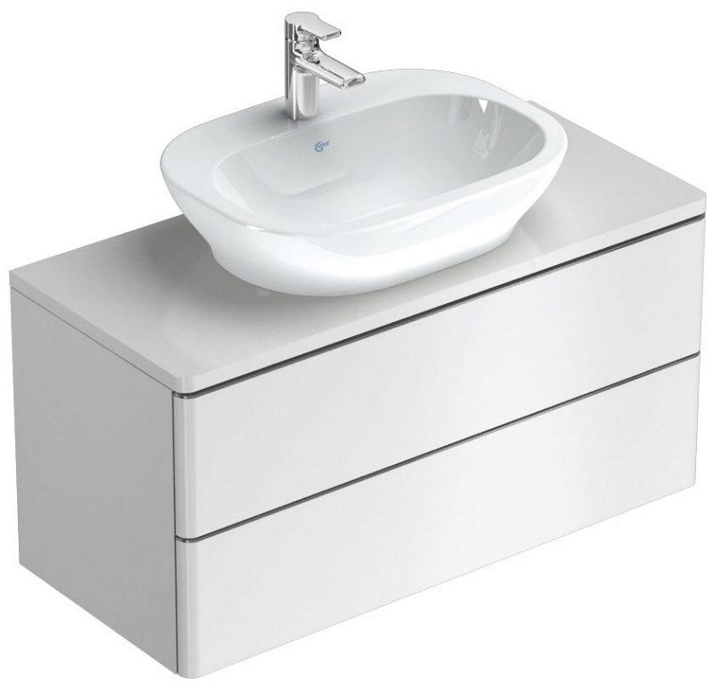 ideal standard softmood waschtischunterschrank 100 cm art t7802wg bei megabad megabad. Black Bedroom Furniture Sets. Home Design Ideas