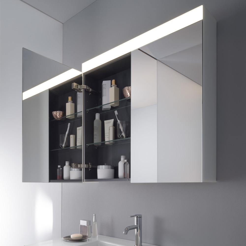 Spiegel Für Spiegelschrank duravit licht und spiegel spiegelschrank 101 x 76 cm better version